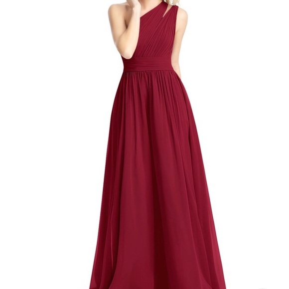 Azazie Dresses & Skirts - Azazie Molly Burgundy Bridesmaid Dress